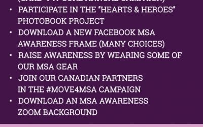 MSA AWARENESS MONTH ACTIVITIES